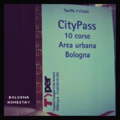 Citypass ペルファボーレで通じる!